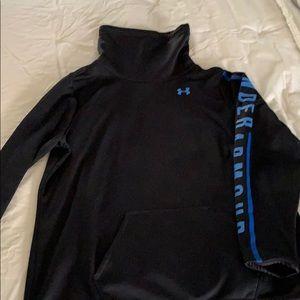 Under Armour cold gear mock neck sweatshirt